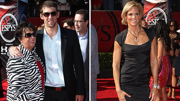 Debbie Phelps, Michael Phelps, Dara Torres