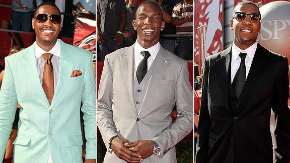 Carmelo Anthony, Hasheem Thabeet, Kevin Durant