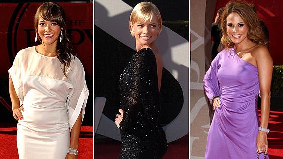 Rashida Jones, Jaime Pressly, Bonnie-Jill Laflin