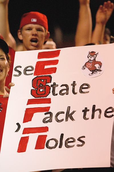 NC State fans