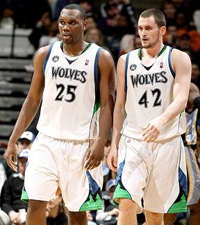 Al Jefferson & Kevin Love