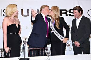 Donald Trump and Carrie Prejean