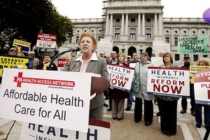 Healthcare rally