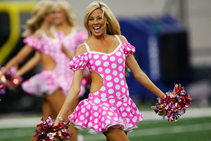 Dallas Cowboys cheerleader
