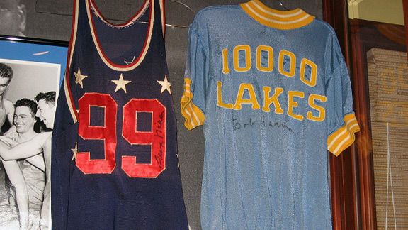 George Mikan College All-Star jersey
