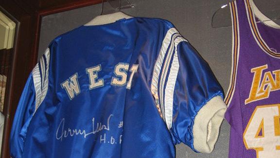 Jerry West's warm-up jacket