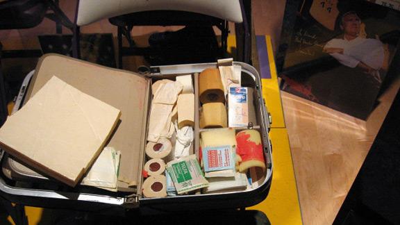 Frank O'Neill's medical travel bag