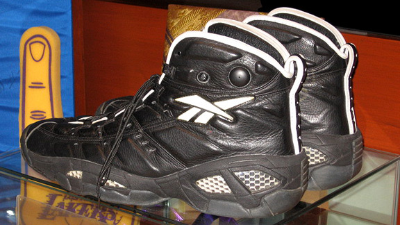 Shaquille O'Neal's game-worn shoes