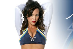 Chargers cheerleader