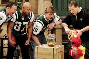 New York Jets & Elmo