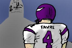 Four on Brett Favre
