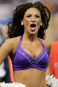 Minnesota Vikings Cheerleader