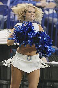 Colts cheerleader