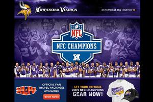 Minnesota Vikings Web site