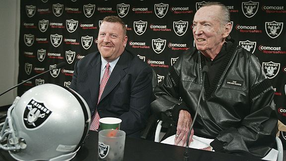 Tom Cable and Al Davis