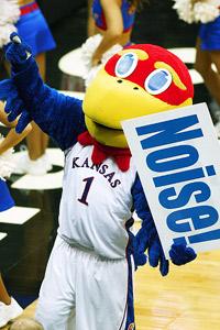 Kansas mascot
