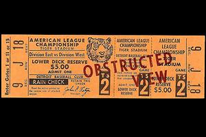 Tigers ticket