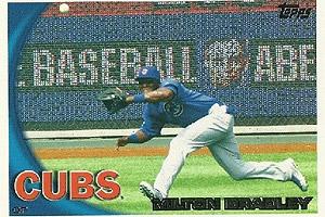 bradley baseball card