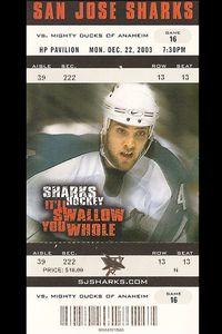 Sharks Ticket