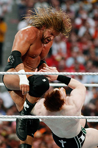 Triple H and Sheamus