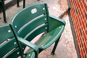 Bartman seat