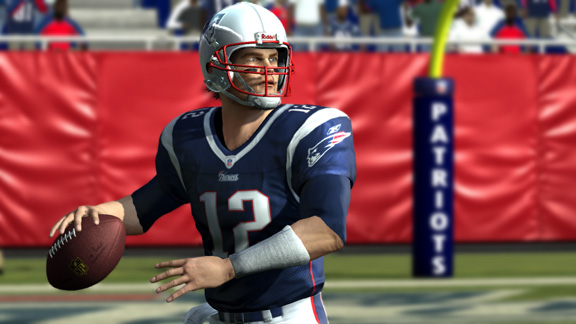In EA simulation, it's Packers vs  Pats in Super Bowl - Page
