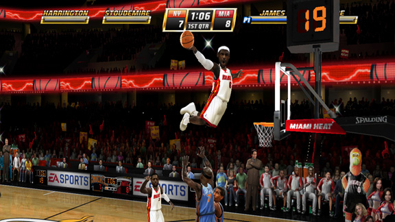 Nba Jam First Shots Of Lebron James And Crew In The Game Espn