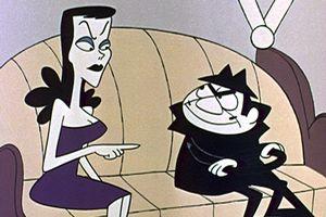 Boris and Natasha cartoon