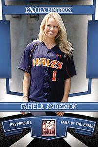 Pamela Anderson baseball card