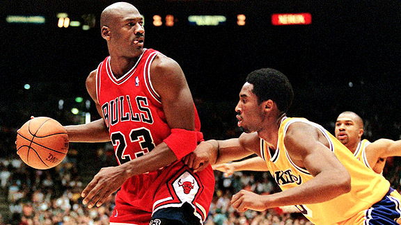 Michael Jordan and Kobe Bryant faced off before it meant more.