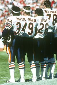 Walter Payton and Matt Suhey