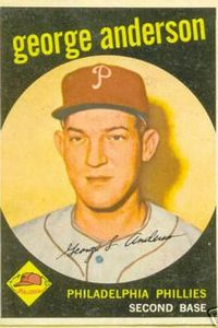 Sparky Anderson card