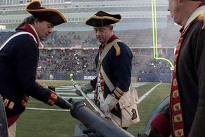 Colonials cannon