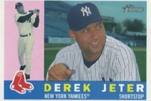 Unlike Fakes Derek Jeter Has Red Sox Trading Card Page 2