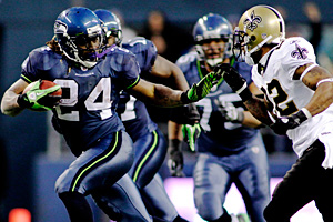 Seattle's Marshawn Lynch