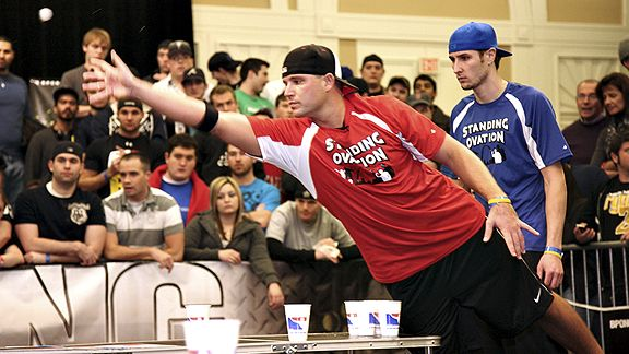 At The World Series Of Beer Pong Founder Billy Gaines Can Chart The Sport S Progress