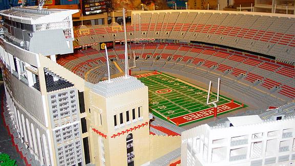 more photos 76922 06b72 Ohio State professor's Lego stadium replica generates ...