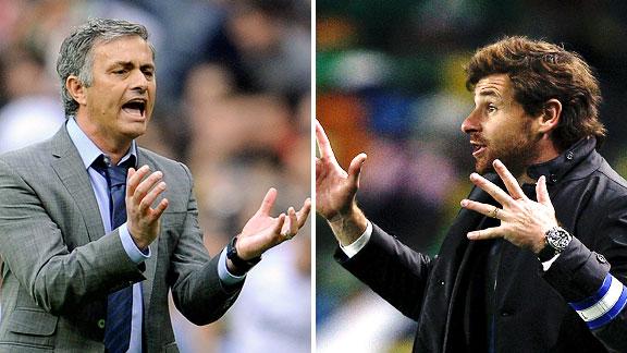 Jose Mourinho & Andre Villas Boas