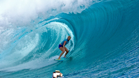 Shark Attack Victim And Pro Surfer Bethany Hamilton Promotes Hollywood Autobiographical Movie