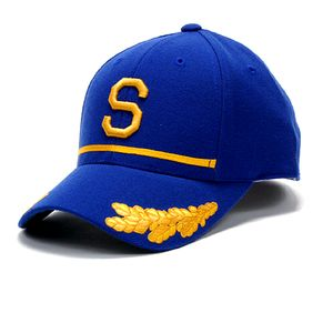 f841320f75c I don t know who within the Seattle Pilots organization came up with the  idea of putting the scrambled egg design on the bill of the cap to mimic an  airline ...