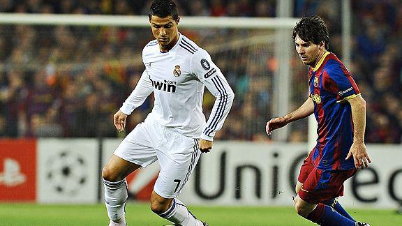 Ronaldo/Messi