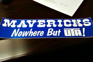 Mavericks Sticker
