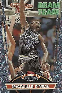 Shaquille Oneals Trading Cards By The Numbers Page 2 Espn