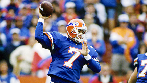 Dany Wuerffel, who was born today, was recently snubbed by the College Hall of Fame.