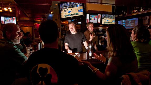 The Fours, a Boston sports bar