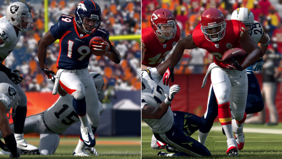 Madden 12' Player Ratings: Broncos and Chiefs - ESPN