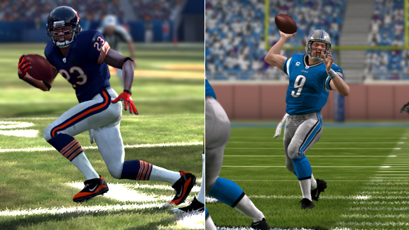 Madden 12' Player Ratings: Lions and Bears - ESPN