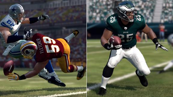 Madden 12' Player Ratings: Eagles and Redskins - ESPN