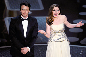 James Franco and Anne Hathaway host the 83rd Academy Awards