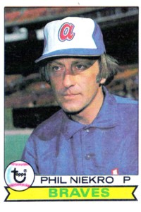Phil Niekro baseball card
